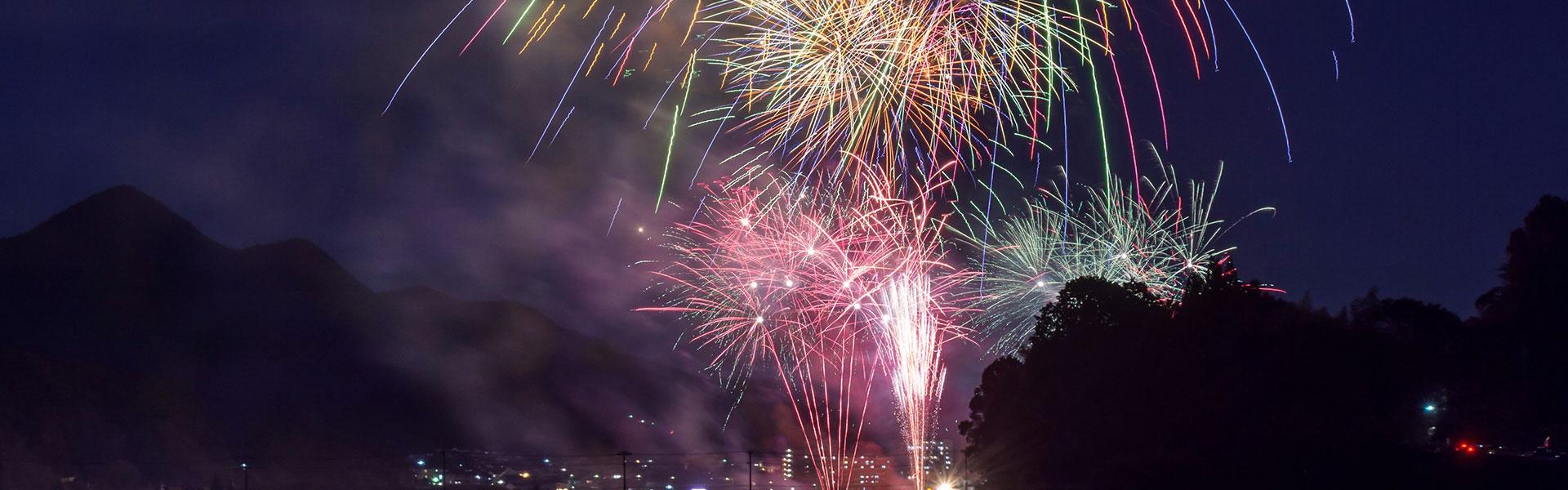 Fireworks in ENN 2019