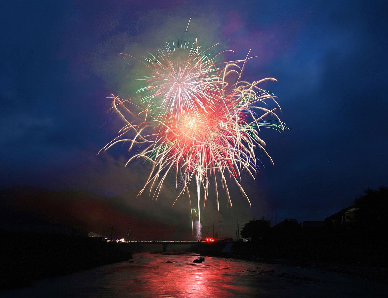 Fireworks in Soni