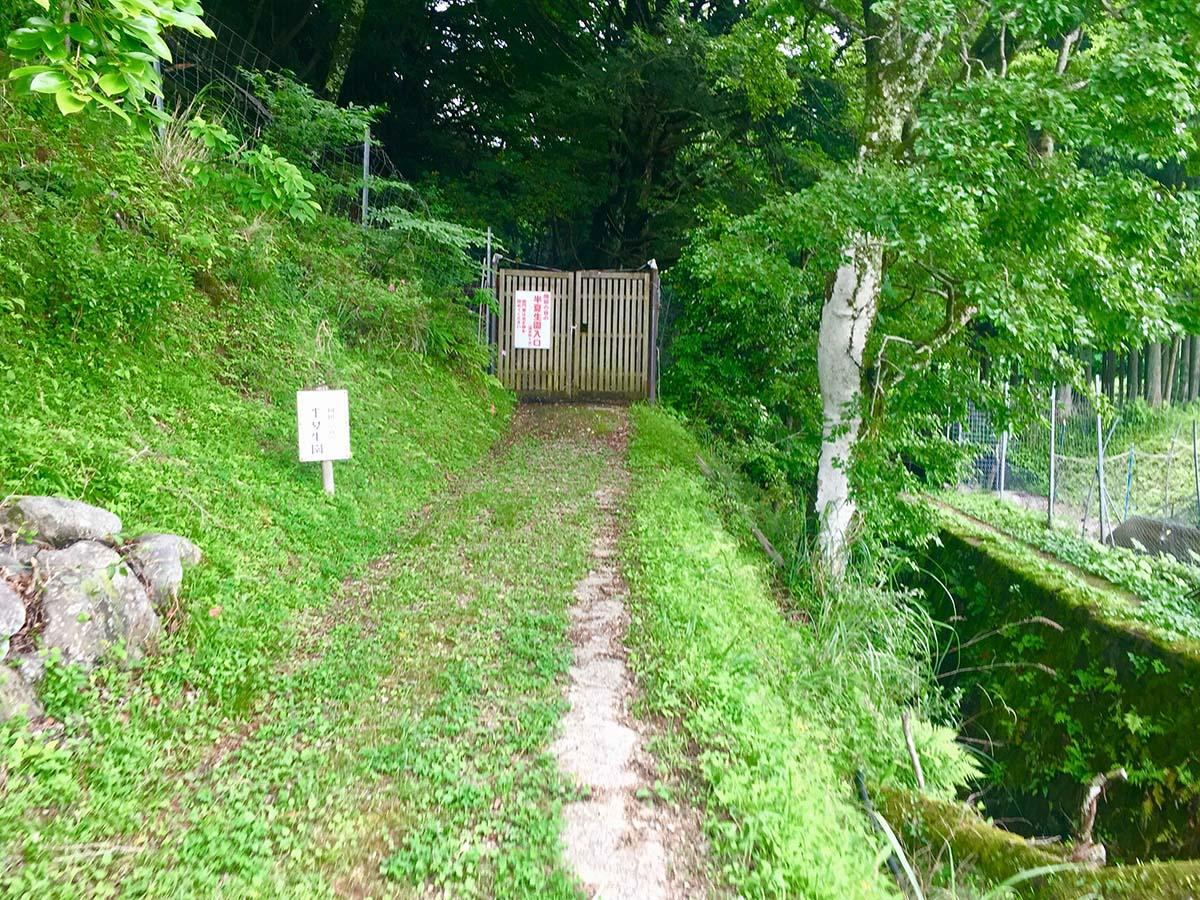 Door to the garden / 半夏生園への扉