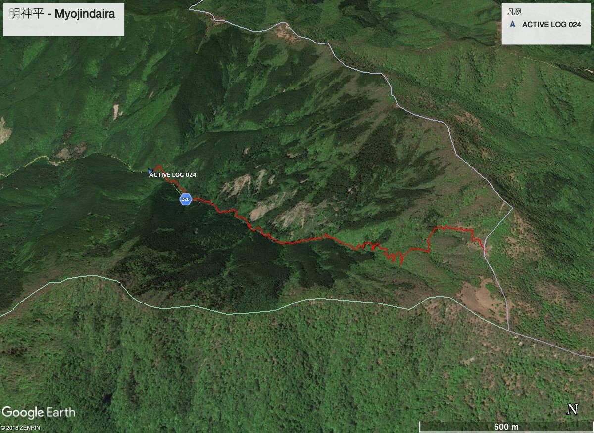myojindaira-route