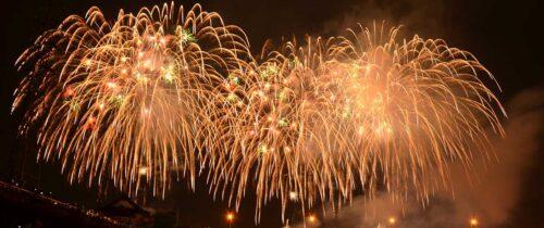 Fireworks in Nabari