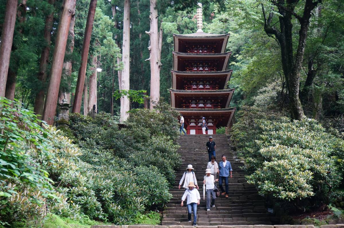 5-story pagoda at Muro-ji Temple