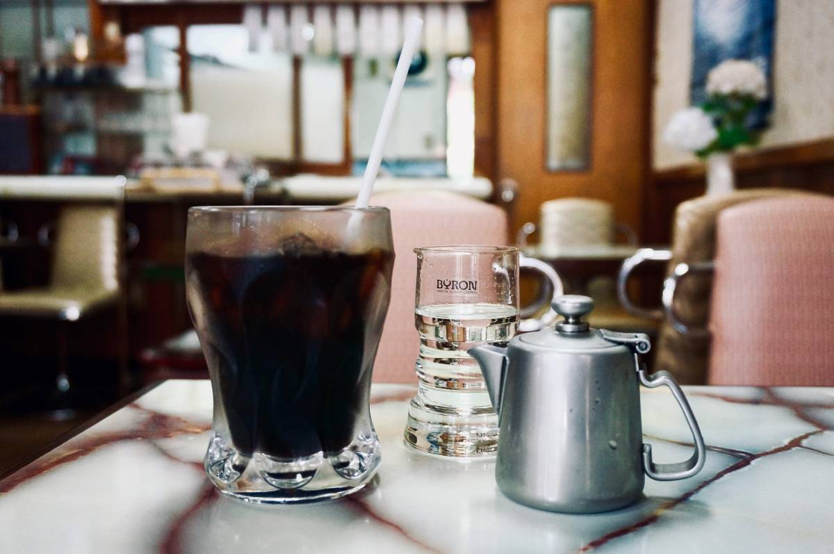 Iced coffee at Cafe Muro