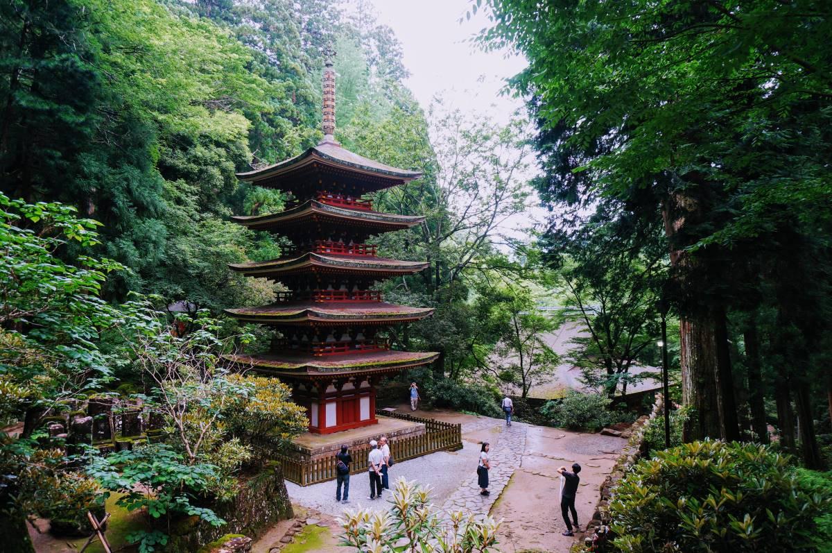 五重塔 / Five-story Pagoda
