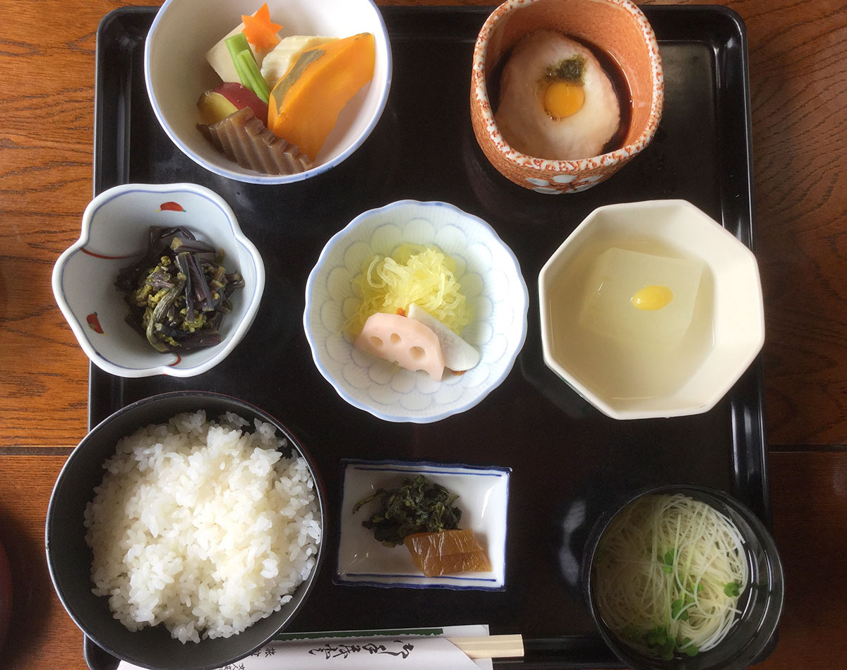 Lunch at Nakamuraya