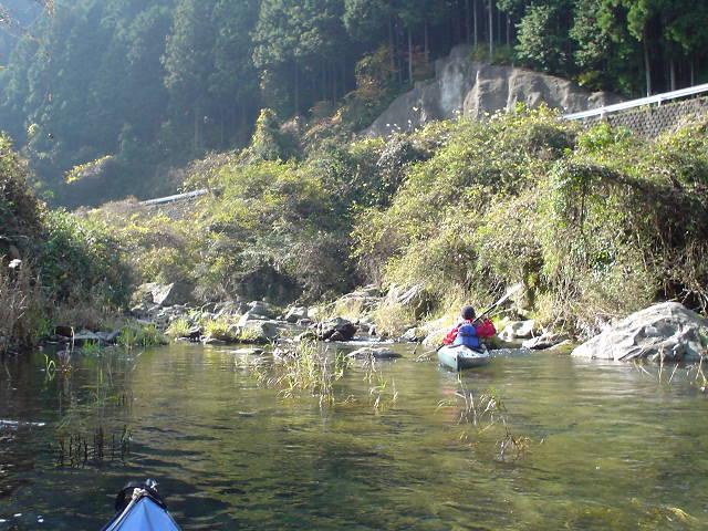 Kayaking at Shorenji Lake / 青蓮寺湖でカヌー