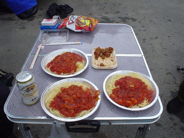 Lunch at Shorenji Lake / 青蓮寺湖でランチ