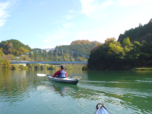 Kayaking on Shorenji Lake