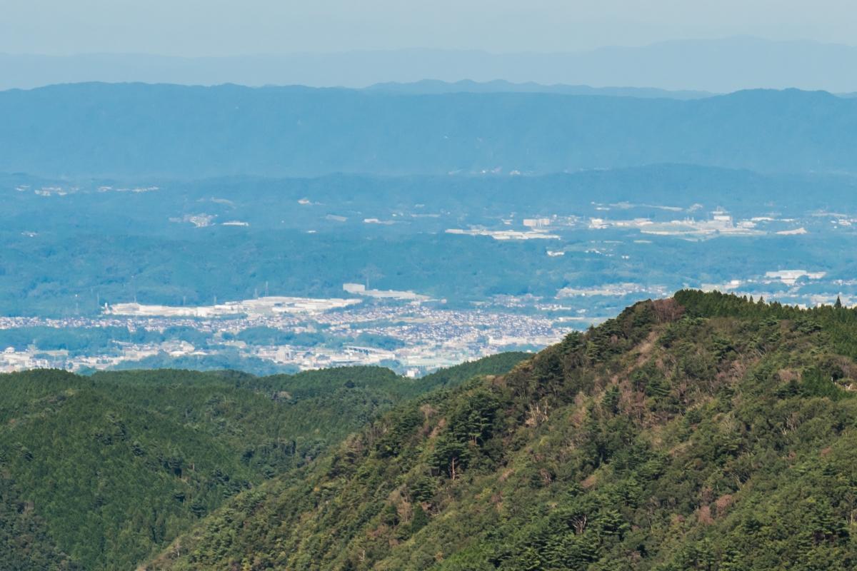 Nabari City from Mt. Kuroso