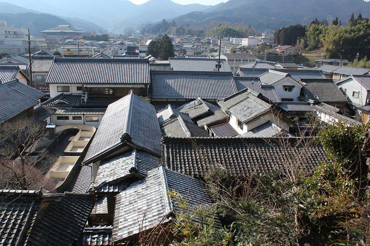 Townscape of Uda-Matsuyama / 宇陀松山の町並み
