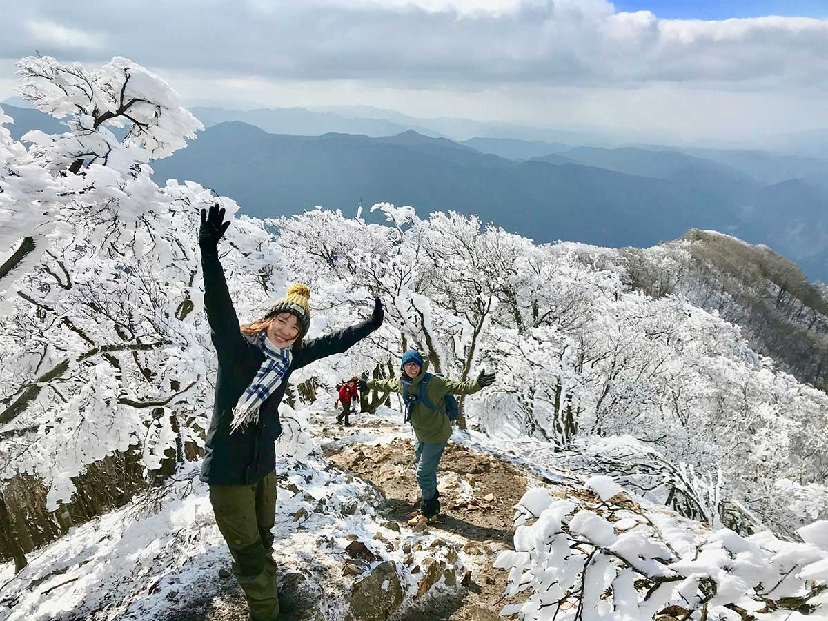 Frosty Mt. Takami / 霧氷と高見山