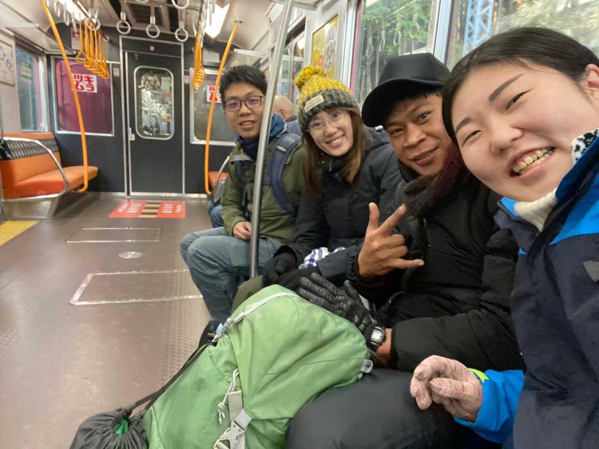 Heading to Mt. Takami / いざ高見山へ