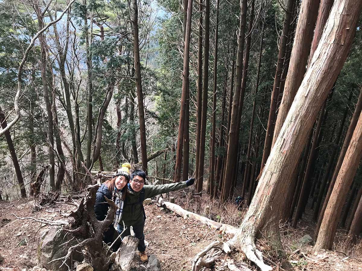 Climbing Mt. Takami / 高見山登山中