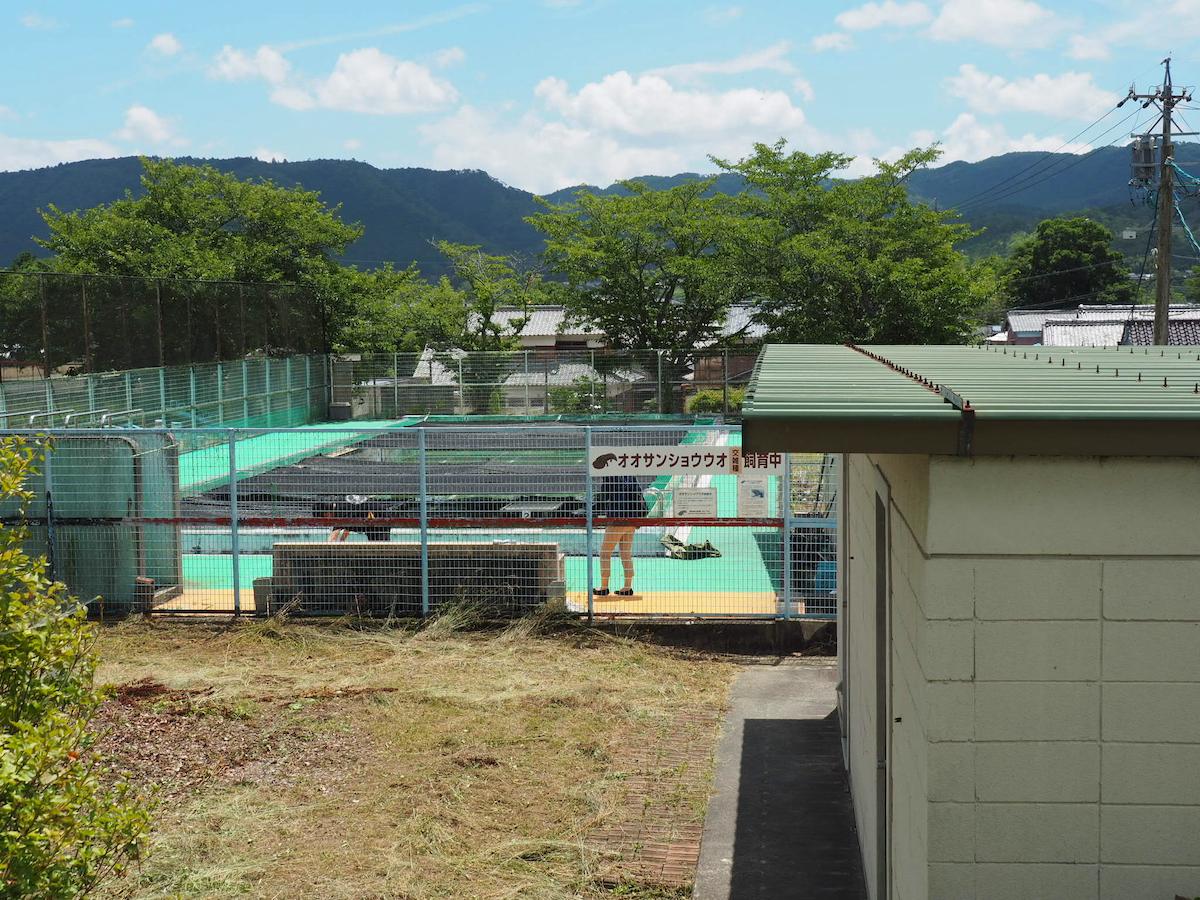 Swimming pool at Nabari Local History Museum