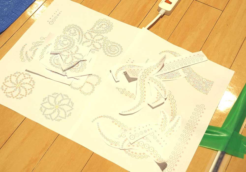 Pattern paper / デザイン型紙