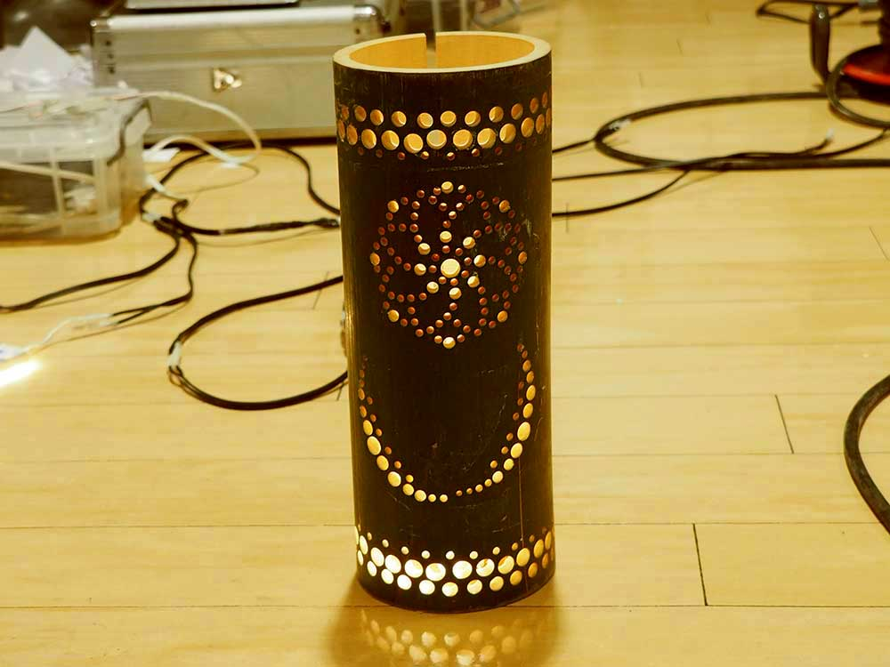 Bamboo lantern / 竹灯り
