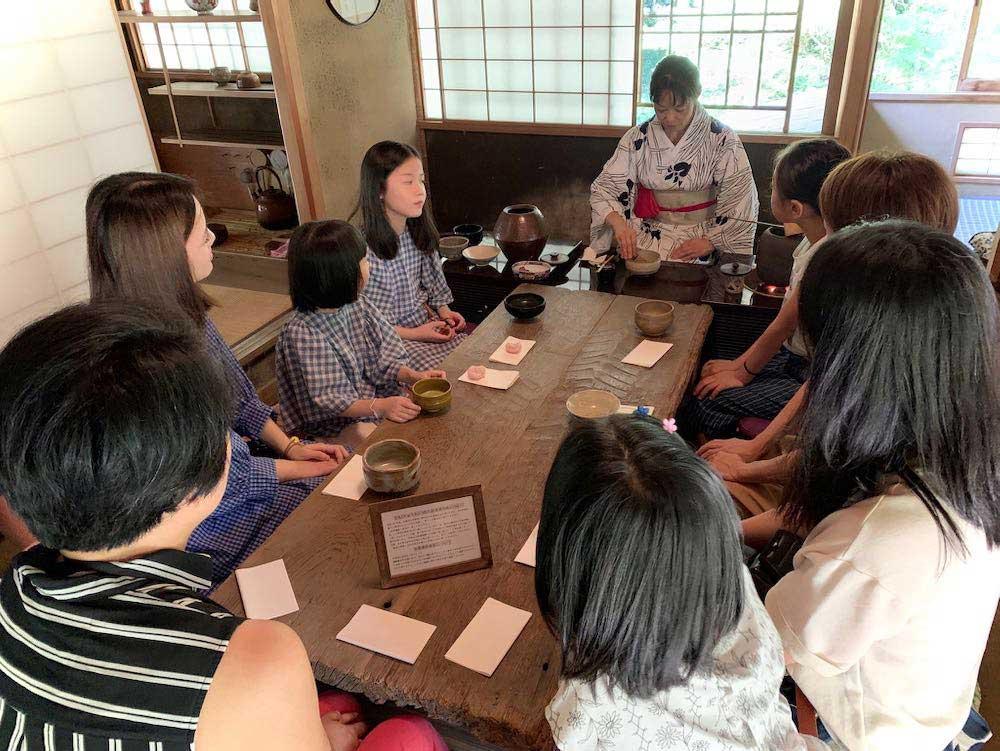 Tea ceremony workshop / 茶道ワークショップ