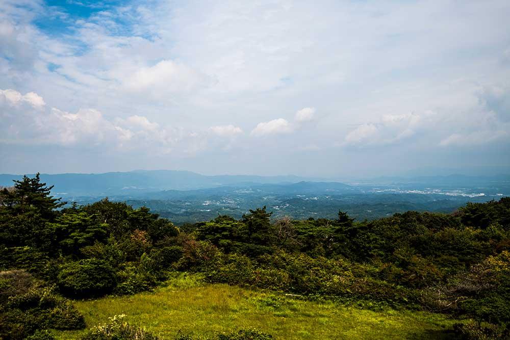 神野山山頂からの眺め