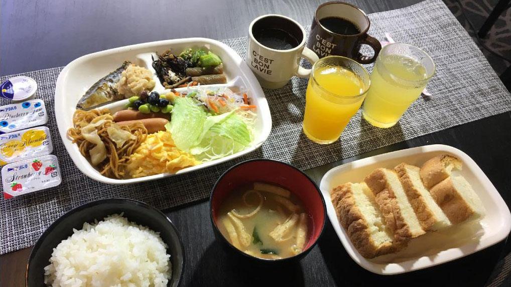 Nabari Plaza Hotel - Breakfast