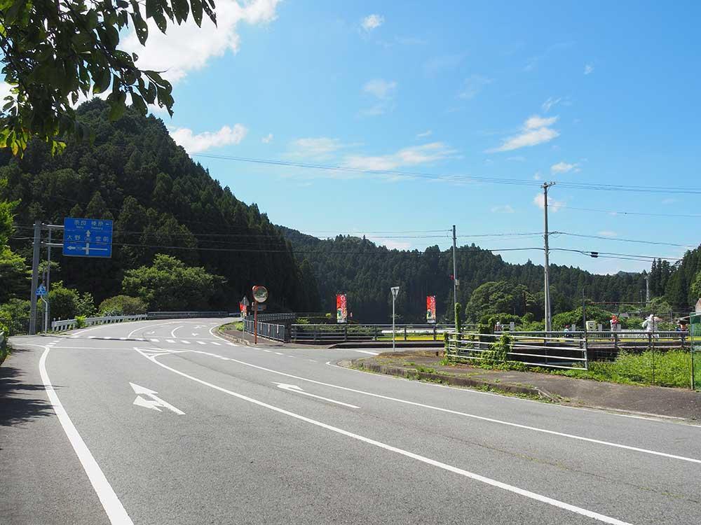 御杖村・国道369号 / Route369 in Mitsue
